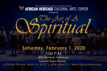 Art of A Spiritual Music Concert Presented by African Heritage Cultural Arts Center