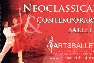 Program 1 - NEOCLASSICAL & CONTEMPORARY BALLETS Presented by Arts Ballet Theatre of Florida