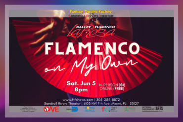 "ONE@SRT: Ilisa Rosal's ""Flamenco On My Own"" Presented by Fantasy Theatre Factory"