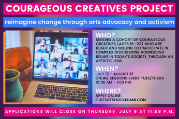 Courageous Creatives Project - APPLY NOW