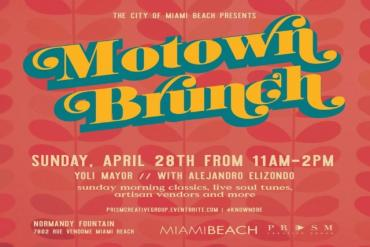 Motown Brunch ft. Yoli Mayor Presented by Prism Creative Group