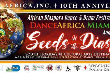 Dance Africa Miami African Diaspora Dance & Drum Festival of Florida Presented by Delou Africa