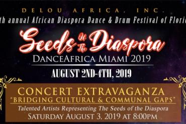 Dance Africa Miami Concert Extravaganza Presented by Delou Africa