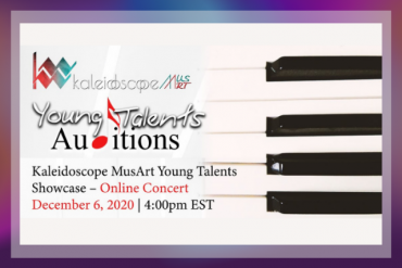 Young Talents Showcase Concert Presented by Kaleidoscope MusArt