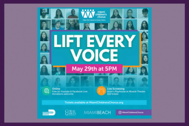 Lift Every Voice Presented by Miami Children's Chorus