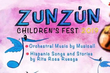 Orchestral Music by Musicall & Hispanic Songs and Stories by Rita Rosa Ruesga (Miami) Presented by ZunZún Children's Fest - V Anniversary!