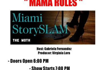 The Moth StorySlam- Mam Rules Presented by Olympia Theater
