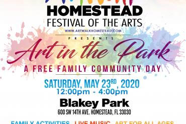Art in the Park Presented by Artwalk Homestead