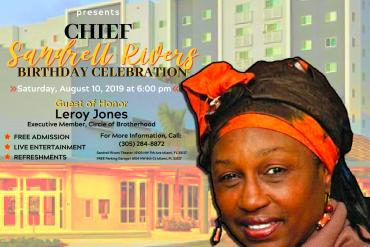 Chief Sandrell Rivers Birthday Celebration Presented by Fantasy Theatre Factory