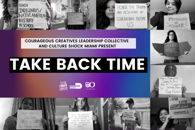 Courageous Creatives Take Back Time film image